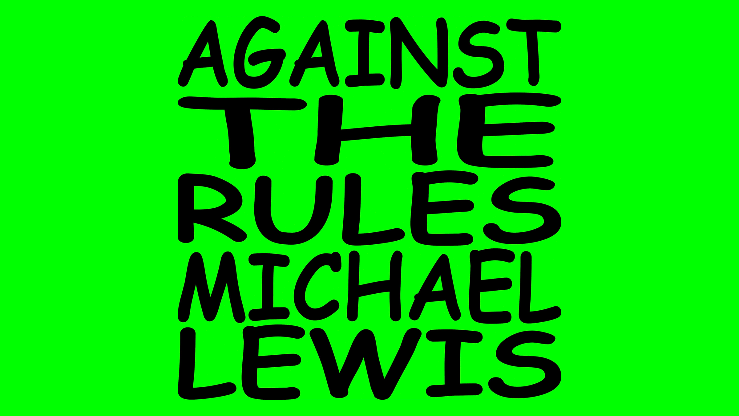 Ben Oliva ft. on Against The Rules with Michael Lewis
